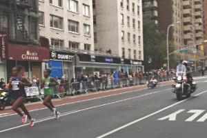 Au cœur du marathon de New York