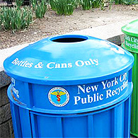 Davantage de recyclage à New York
