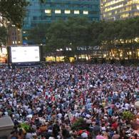 Du cinéma en plein air au HBO Bryant Park Summer Film Festival