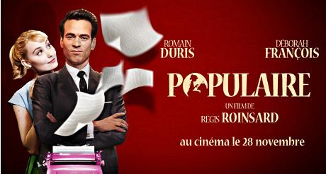 """Le film """"Populaire"""" fait partie de la programmation du festival du film français de New York. (Photo D.R.)"""