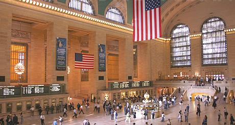 Le hall principal de Grand Central Terminal. (Photo D.F.)