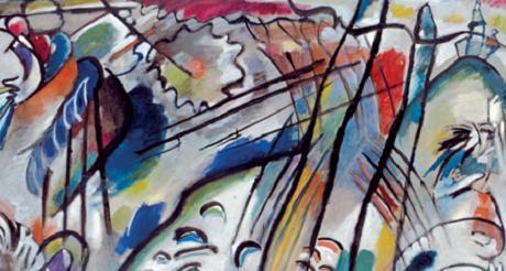 Jusqu'au 17 avril, le peintre Vasily Kandisky est en vedette au Guggenheim Museum. (Photo D.R.)