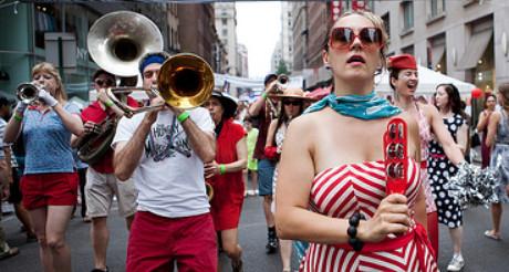 La France est dans la rue à New York pour le 14 juillet ! (Photo D.R.)