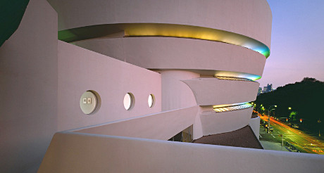 Le futuriste Guggenheim Museum accueille une exposition sur le futurisme italien... (Photo D.R.)
