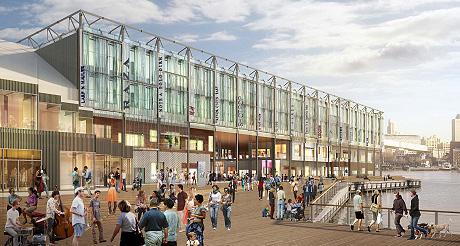 New York s'offre un nouveau Pier 17 ! (Photo D.R.)
