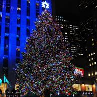 Le sapin de Noël du Rockefeller Center est allumé