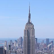 Empire State Building Meteo Au Sommet