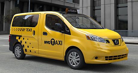 La nouvelle génération de taxis new-yorkais devraient apparaître dans les rues de New York à partir de la fin 2013. (Photo D.R.)
