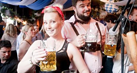 Non vous n'êtes pas à Munich mais bien à New York... Bienvenue à la New York City Oktoberfest ! (Photo D.R.)