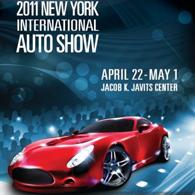 Les voitures du futur au Salon de l'auto de New York