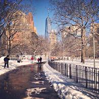 Météo : New York retrouve la neige !