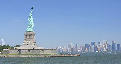 La statue de la Liberté est administréee par le National Park service. (Photo D.F.)