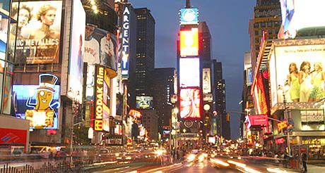 New York a accueilli un total de 11 millions de visiteurs internationaux en 2012. (Photo D.F.)
