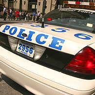 Une voiture de police dans les rues de Manhattan (Photo www.cnewyork.net)
