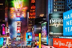 New York fête l'arrivée de 2014 !