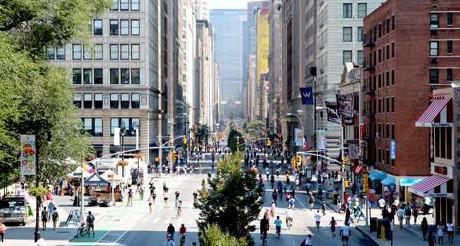 Profitez de Park Avenue sans une seule voiture ! (Photo D.R.)