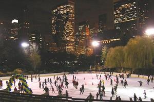 Patinez à Central Park