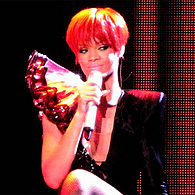Rihanna passe au rouge à New York