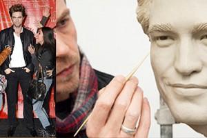 Robert Pattinson, le vampire de Twilight, au musée Tussauds de New York