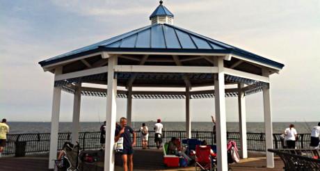 Le Pier du nouveau Boardwalk de Staten Island. (Photo Nathalie Fitzpatrick) (Photo Nathalie Fitzpatrick)