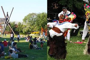 Tai chi, musée et festivités au Socrates Sculpture Park de Long Island