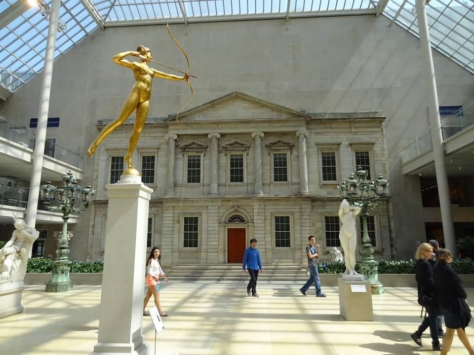 La scénographie a son importance au Metropolitan Museum