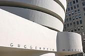 L'architecture du musée est signée Frank Lloyd Wright.