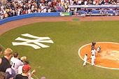 Ambiance au Yankee Stadium.