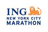 Le logo du marathon de New York.