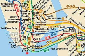 Ligne A Metro New York | Subway Application