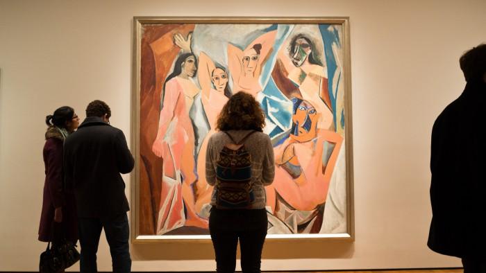 """""""Les Demoiselles d'Avignon"""" de Pablo Picasso. (Photo  Phil Roeder)"""
