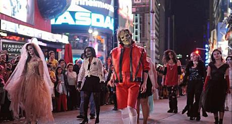 Le 25 octobre, participez à la chorégraphie de Thriller sur Times Square !