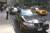 Une limousine dans Park Avenue. So chic !