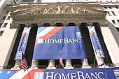 L'imposante façade à colonnades du New York Stock Exchange.