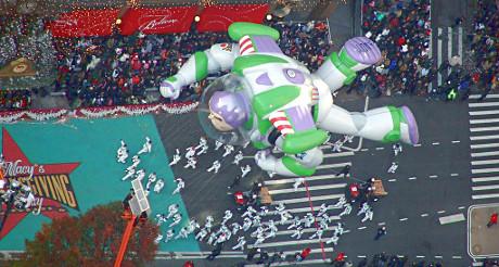 Les ballons géants de la parade de Thanksgiving survoleront New York le 27 novembre !