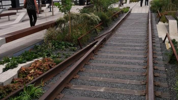 New york au fil de la high line new york - Traverse de chemin de fer occasion ...