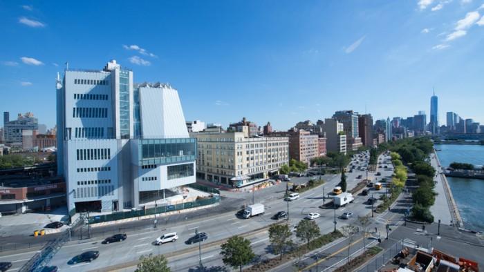 Vue d'artiste du nouveau Whitney Museum of American Art.