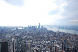 vue depuis Empire State Building