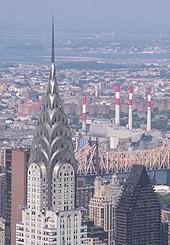 Le Chrysler building, l'un des immeubles emblématiques de New York.