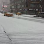 New York en pleine tempête de neige