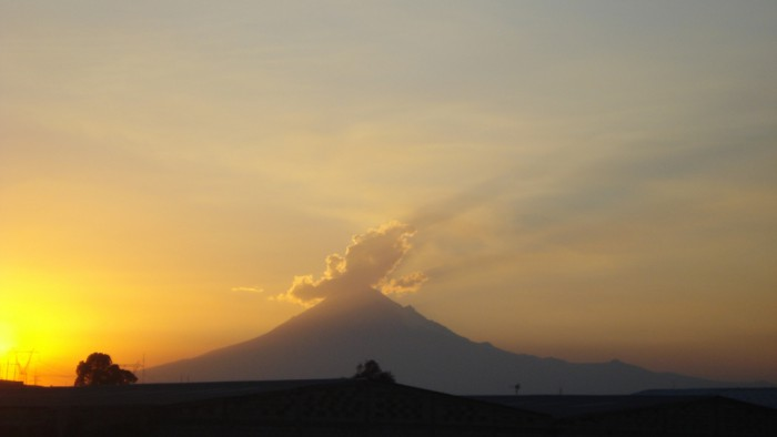 Vous saurez tout sur les volcans dans cette nouvelle exposition du musée d'histoire naturelle de New York. (Photo Laura)