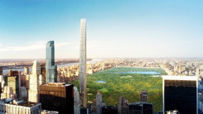 Le longiligne 111 West 57th Street sera inauguré en 2016.