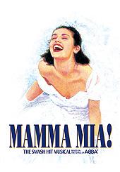 L'affiche de Mamma Mia.
