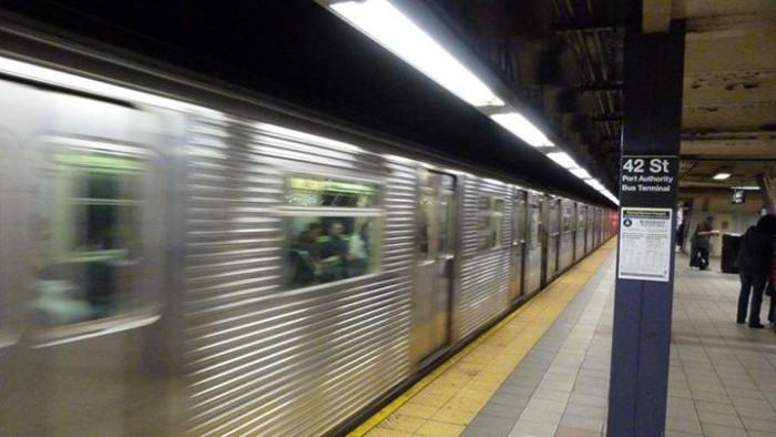 Le métro de New York est un monde plein de surprises ! (Photo Guillaume Gonzales)