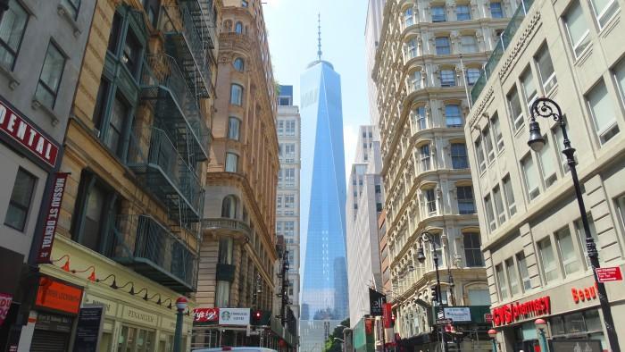 Les premiers occupants du One World Trade Center ont emménagé la semaine dernière.