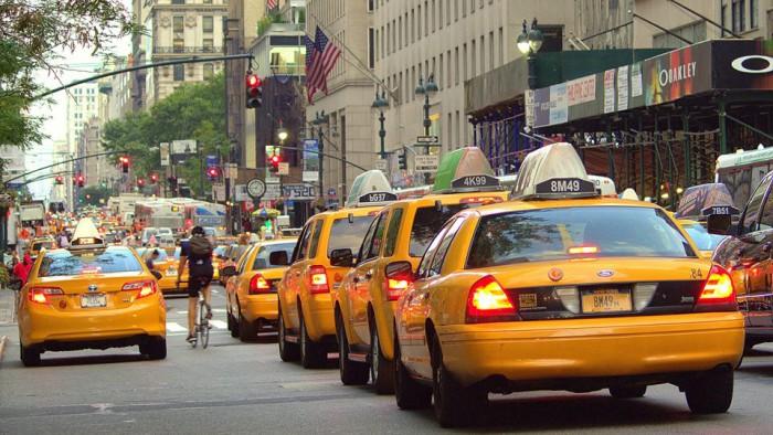 Trafic dense à New York ! (Photo Vinay Idoux)