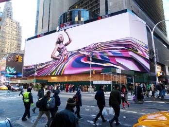Le nouvel espace publicitaire est commercialisé par Clear Channel Spectacolor.