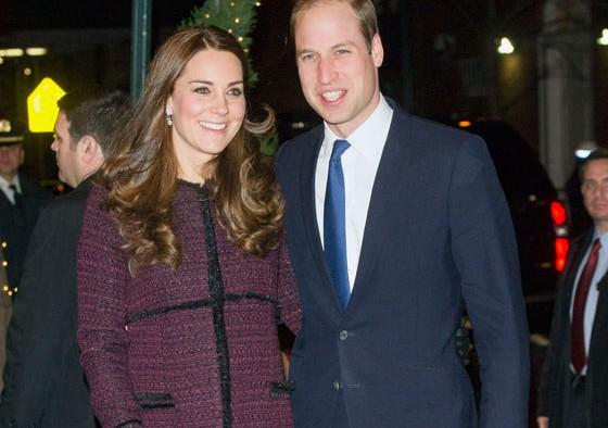 William et Kate à leur arrivée hier à New York. Une photo diffusée par leur service de presse.