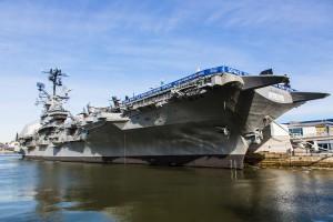 L'Intrepid Museum est hébergé sur un porte-avions