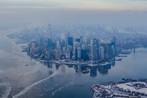 New York en mode pôle Nord…
